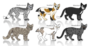 Free Warrior Cats Adopts OPEN by toywitch on DeviantArt