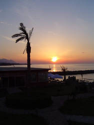 Sunset at Vogue Beach 01 by northerncyprus