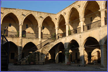 Inside of the Buyuk Han by northerncyprus