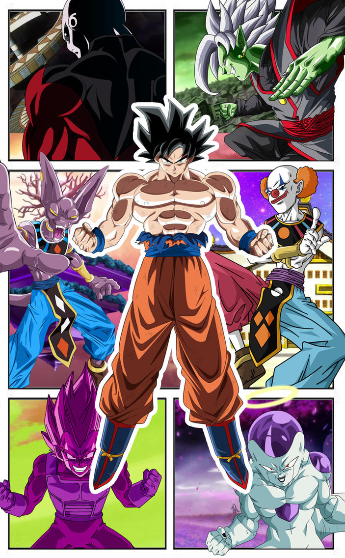Dragon Ball Super Comic Mobile Wallpaper By TheRealFeezyE