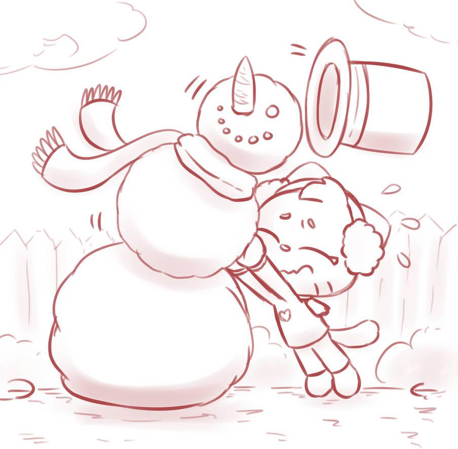 Snowman troubles