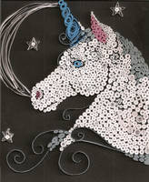 Quilled Unicorn by plushunicorn