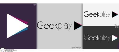 Geekplay logo+logotype