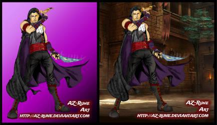 Vax'ildan, Elf, Rogue from Critical Role by AZ-RUNE