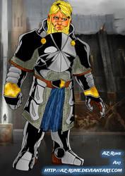 Dwarf Fighter by AZ-RUNE
