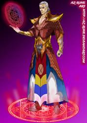 Malah: Elven Arch-Wizard by AZ-RUNE
