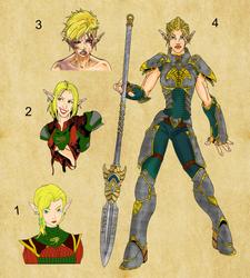 Nara-Character-progression by AZ-RUNE