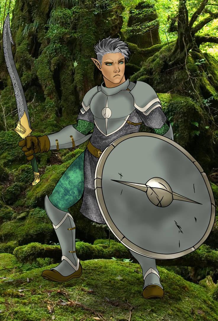 Haldor - Half-Elf, Fighter by AZ-RUNE