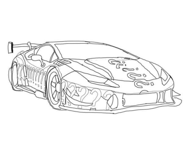 Lamborghini hurricane sketch NEED FOR SPEED by TJBlaine
