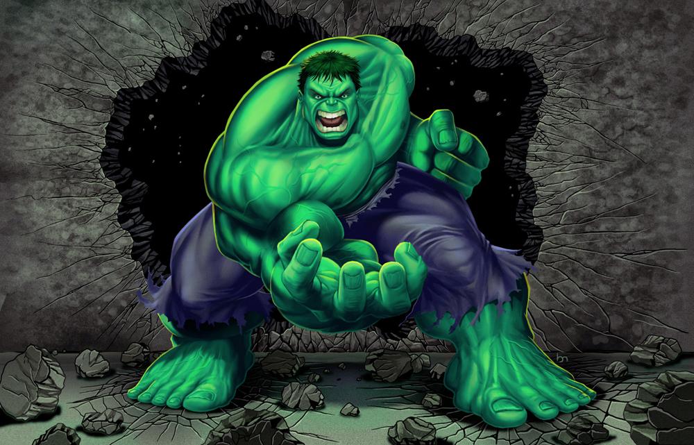 Hulk 1 by BobMacNeil