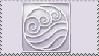 Water Bender Stamp by Katttty920