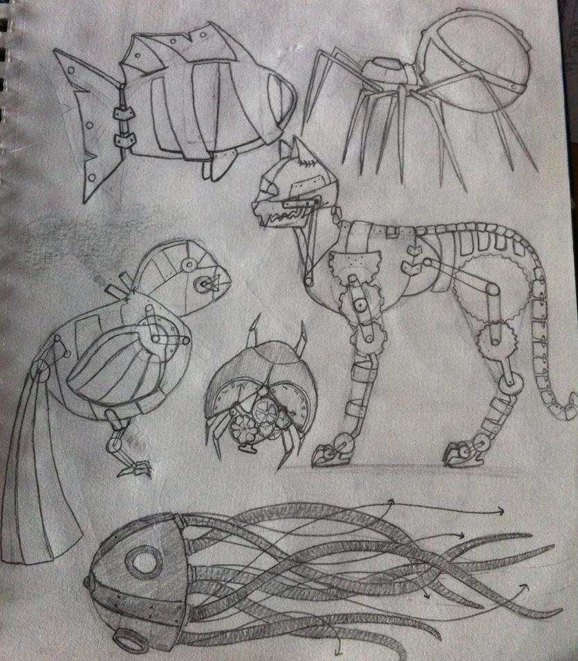 Steampunk page 2/4 by Katttty920