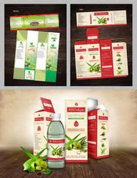 Aloe-Amla Juice Package Design by bsbirdi