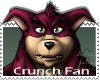 Crunch Bandicoot Stamp by Rik-B