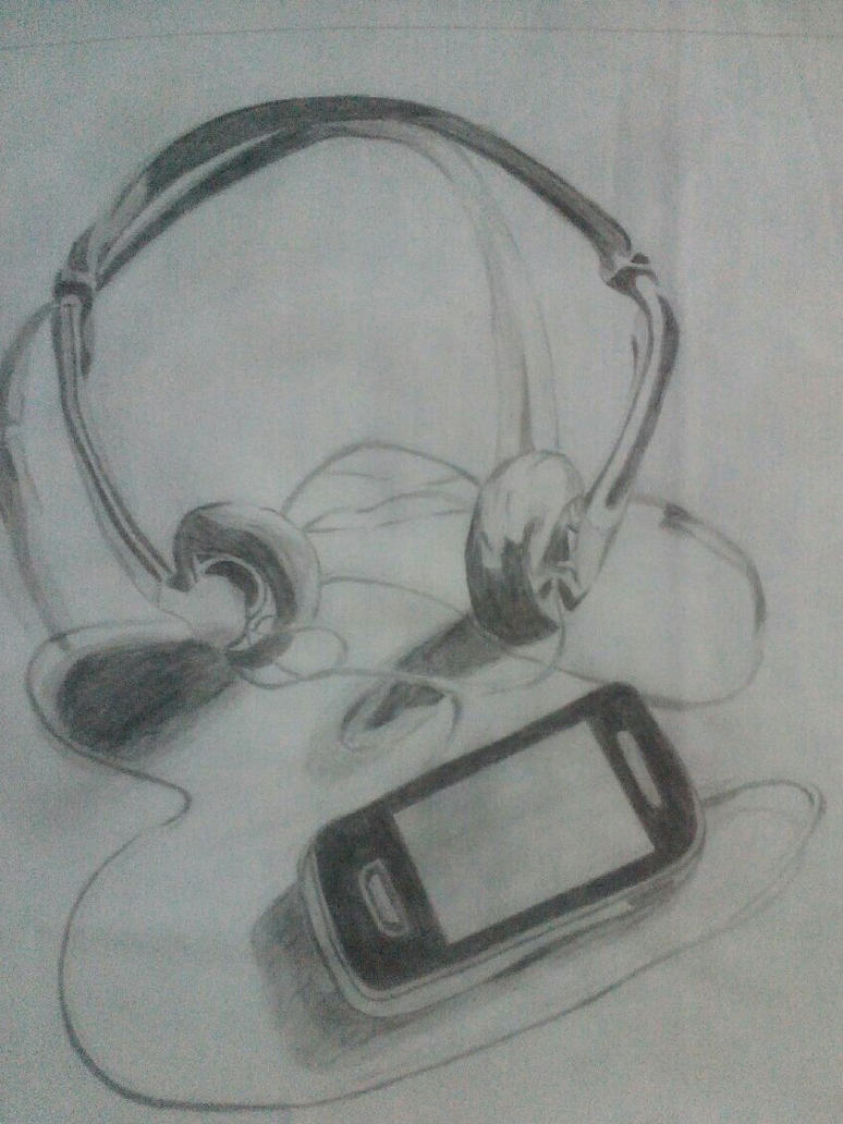 Headphone by AkemiKudo