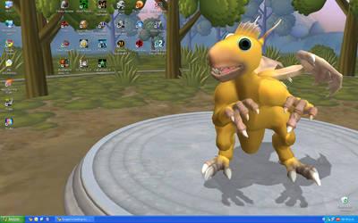 Spore Desktop Screenshot by AndyDragon