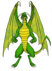 El gran Dragon Verde by AndyDragon