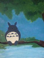 Totoro by PuzzlingPuzzles
