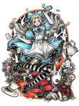 Alice in Wonderland by ValeBan
