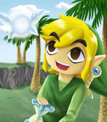 Link and Ciela... by Coco-of-the-Forest