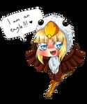 AT: Chibi eagle Zelda