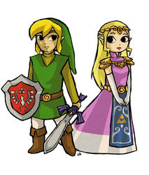 the hero and the princess of the past