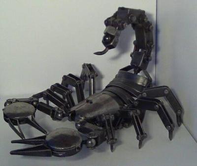 Imperator Antiquus - Steel Scorpion by afewskroosloose