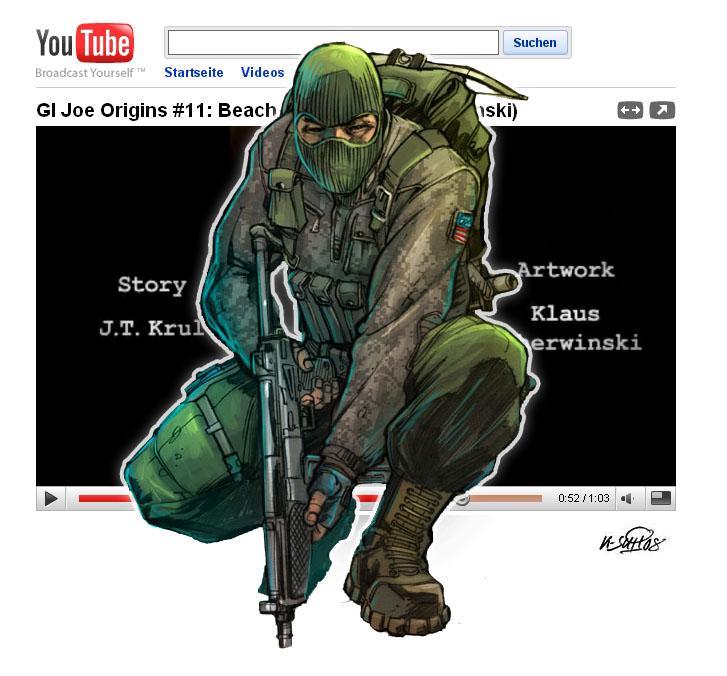 GI Joe Beach Head Trailer by KlausScherwinski