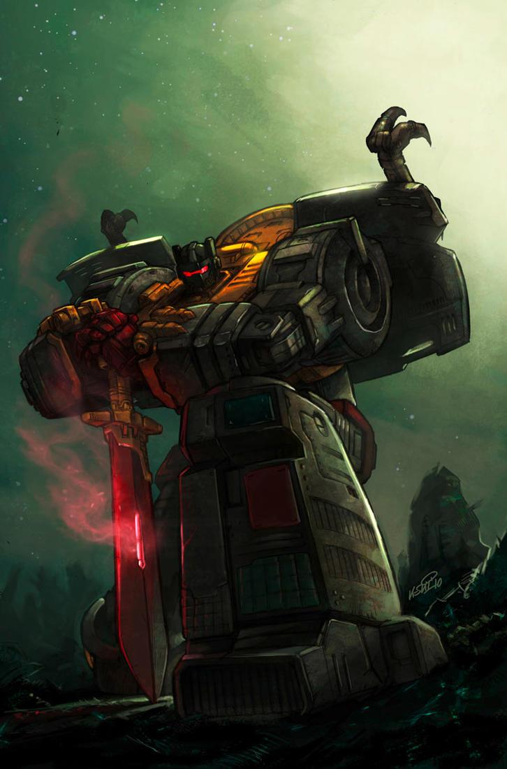 Transformers Grimlock by KlausScherwinski