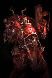 Dark Visions Warhammer Cover by KlausScherwinski