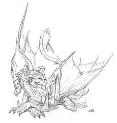Shadowrun Dragon Nebelherr by KlausScherwinski