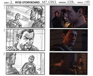 Ryse: Son of Rome storyboard comparison by KlausScherwinski