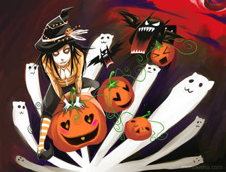 Hallowe'en 2009 by Menewsha