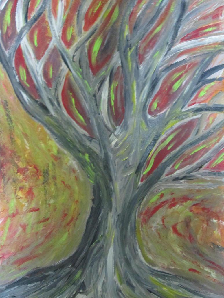 Fire Tree by nevs89