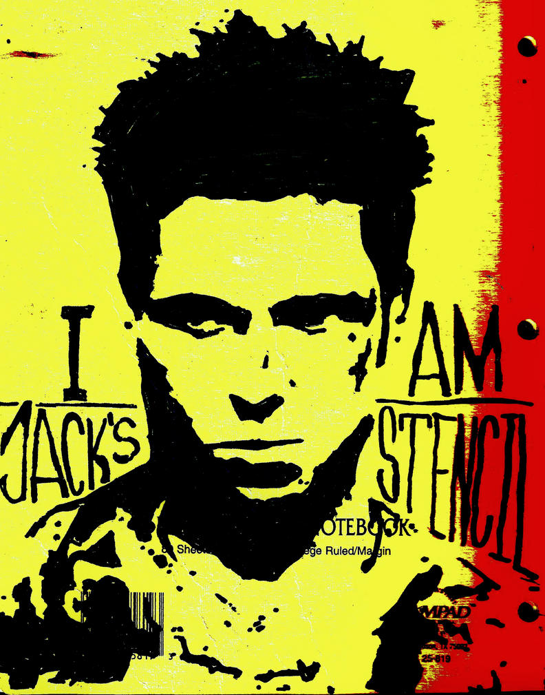 I Am Jack's Stencil by Zed-of-Venice