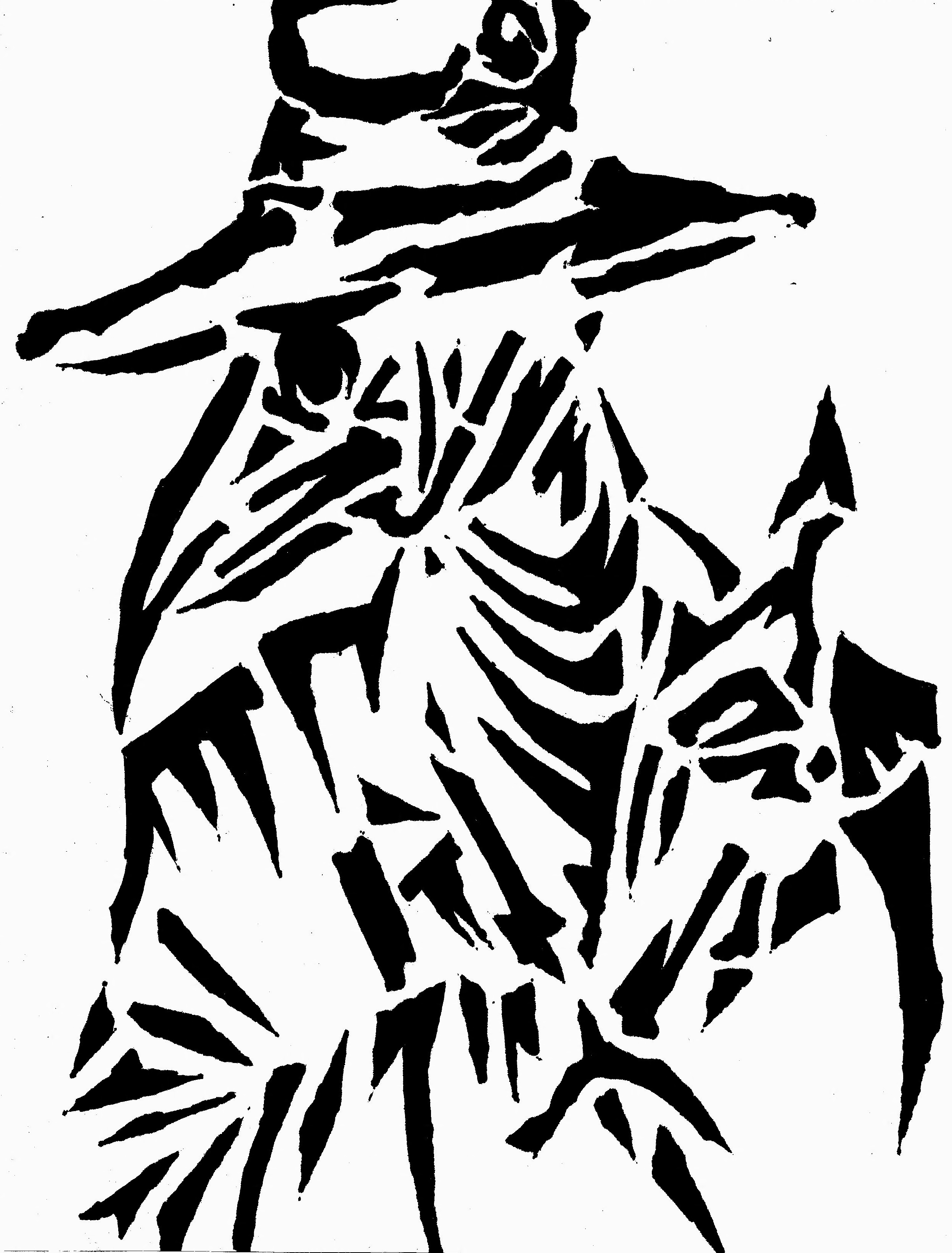 Heisenberg Chronicles • Walter White stencil by Schuyler Ramstead ...