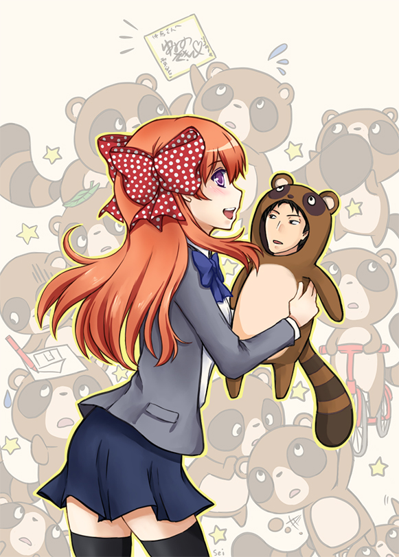 Gekkan Shoujo: Tanukis by seika