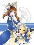 Pokemon: Pikachu Belle by seika