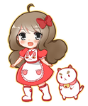 Bee and Puppycat chibi