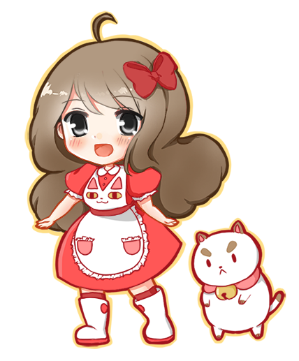 Bee and Puppycat chibi by seika