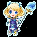 Dota 2: Blueheart Tails Crystal Maiden Chibi