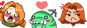 Dota 2 Twitch Emotes