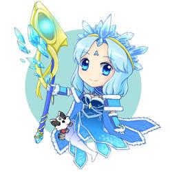 Crystal Maiden by seika