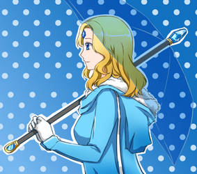 Rylai's Umbrella by seika