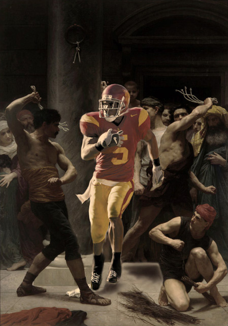 he's not a football player by stanzah