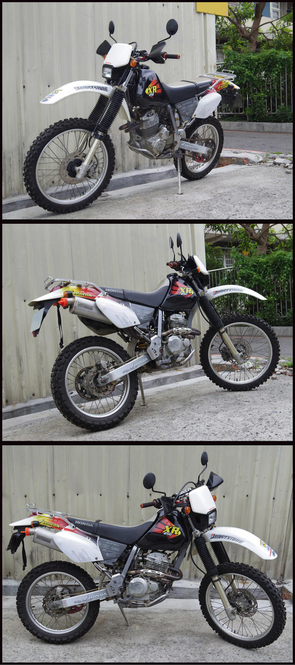 Xr250 Sticker kit by scarfaceliu