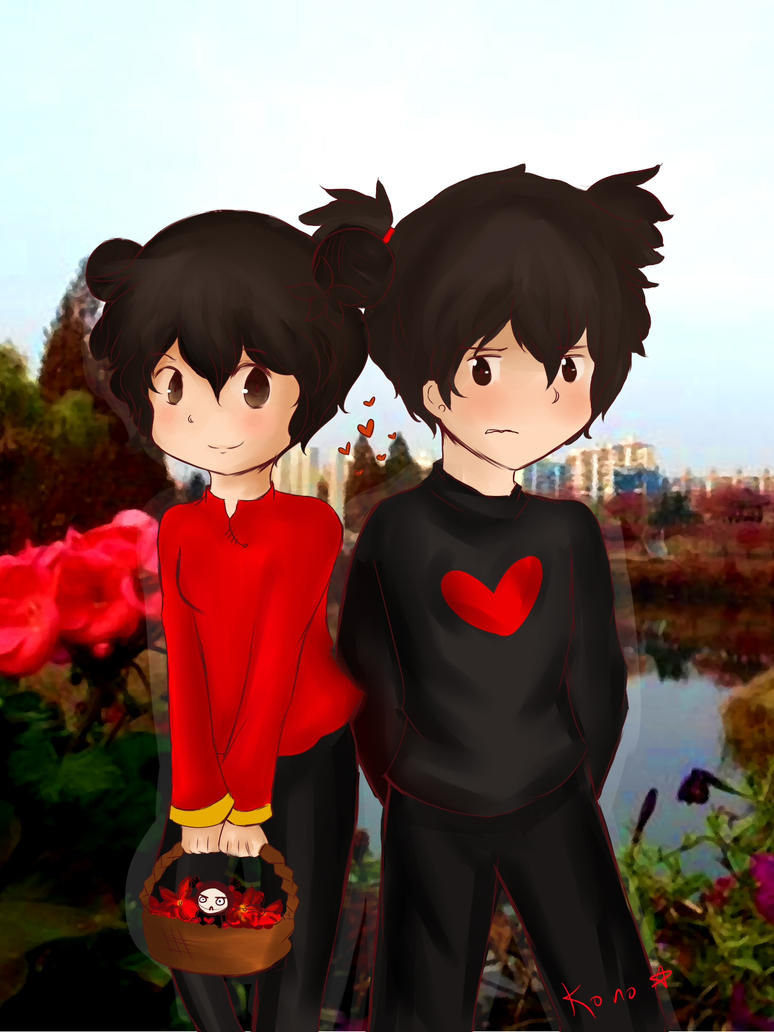 SS: Pucca and Garu by ColombianTwat
