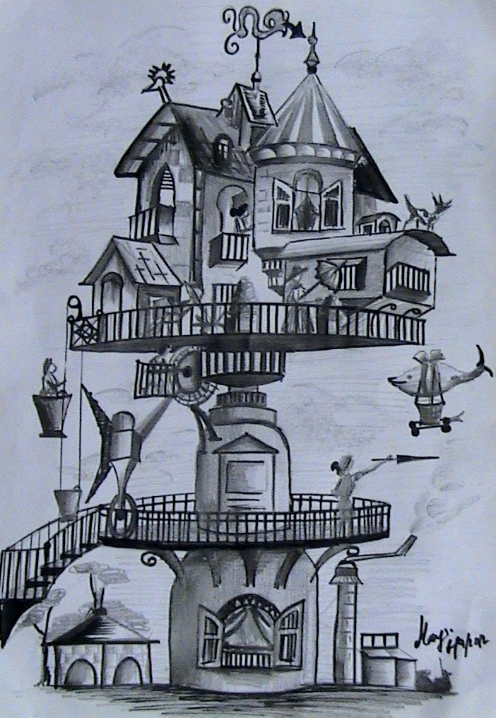 Fantasy House by BaisakhiMay ...
