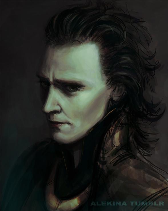 Prince Loki by ~AlekinaArt