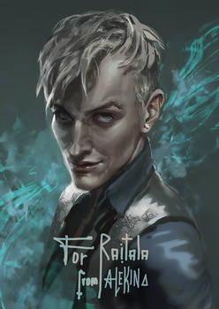 Draco Malfoy (commission)